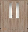 Masonite interiérové dveře VERTIKUS dvoukřídlé laminát premium