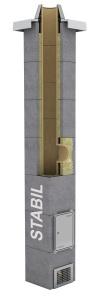 Schiedel dvouprůduchový komín STABIL 20/20 cm