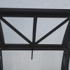 Větrací okno pro zahradní skleník TRJOSKA detail