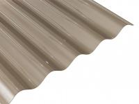 Elastické, hladké a vysoce transparentní PVC desky. Desky jsou lehké a velice snadno se s nimi manipuluje. PVC desky nabízíme v profilu vlny 76 x 18 mm