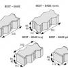 Rozměry zámkové dlažby Best Base