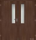 Masonite interiérové dveře kašírované VERTIKUS dvoukřídlé