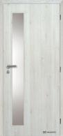 Masonite interiérové dveře VERTIKA SKLO laminát premium