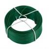 Vázací drát poplastovaný Zn+PVC zelený 60 m v drátěném obalu