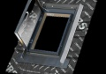 Onduline střešní okno/výlez 60 x 60 cm, otevírání do boku