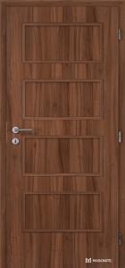 dveře Masonite Dominant plné CPL standard ořech