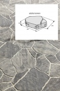 BEST SOLITERA betonová dlažba výška 80 mm