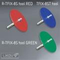 Montážní přípravek R-TFIX-8S tool GREEN/zápustná montáž/Rawlplug