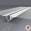 Dilatace průběžná 2D LD-NH PVC 06 2,5 m