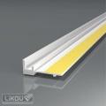 Začišťovací okenní lišta PS-VHR 6 mm / 2,4 m