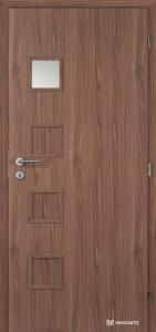 Masonite interiérové dveře kašírované GIGA 1 ořech