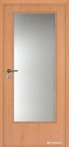 Dveře jednokřídlé Masonite 3/4 sklo CPL laminát olše