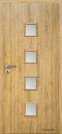 Masonite interiérové dveře QUADRA SKLO laminát standard