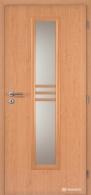 Masonite interiérové dveře STRIPE SKLO laminát standard