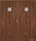 Masonite interiérové dveře QUADRA 1 dvoukřídlé laminát standard