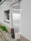 Lanitplast boční stěna UNI bílá / PC