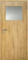 Masonite interiérové dveře 1/3 SKLO laminát standard
