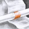 detail správné aplikace při průchodu trubky konstrukcí