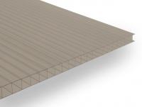 Polykarbonátová deska Guttagliss DUAL BOX 6 mm bronz