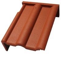 Pultová orajová levá betonová taška Betonpres OPTIMAL