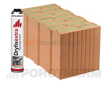 Porotherm 44 t profi dryfix cena