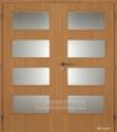 Dveře Masonite dominant sklo dvoukřídlé