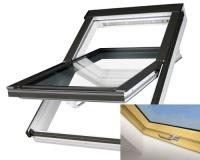 Fakro střešní okno PTP-V/PI U3 borovice 78x98 cm plastové