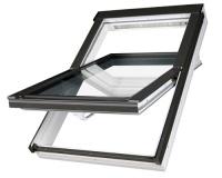 Fakro střešní okno PTP-V U5 bílé 05 78x98 cm plastové