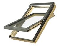 Fakro střešní okno FTP-V P2 Secure 03 66x98 cm dřevěné