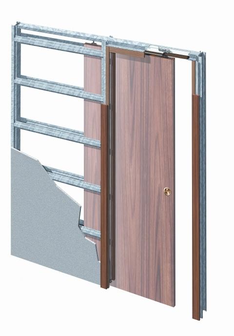 Eclisse stavební pouzdro jednokřídlé do sádrokartonu 600 mm