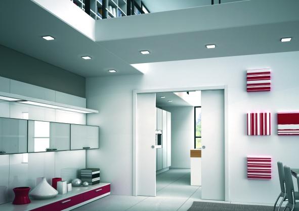 Eclisse stavební pouzdro dvoukřídlé do zdi 800+800 mm