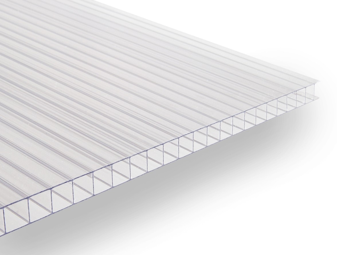 Gutta polykarbonátová deska Guttagliss DUAL BOX 6 mm čirá 1,00x1,05 m