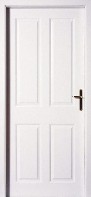 Masonite Interiérové dveře ODYSSEUS 60 cm, bílá pór