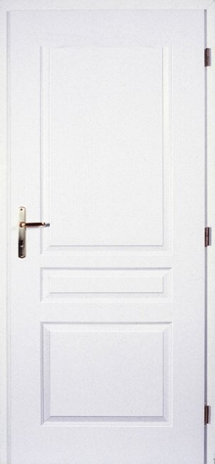 Masonite Interiérové dveře TROJA 60 cm, bílá pór