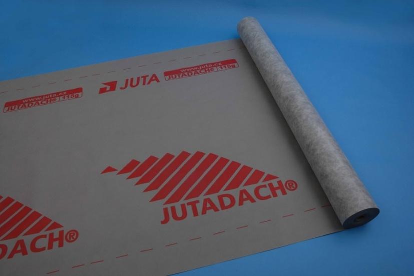 Juta paropropustná fólie Jutadach 115 g PLUS s aplikační páskou