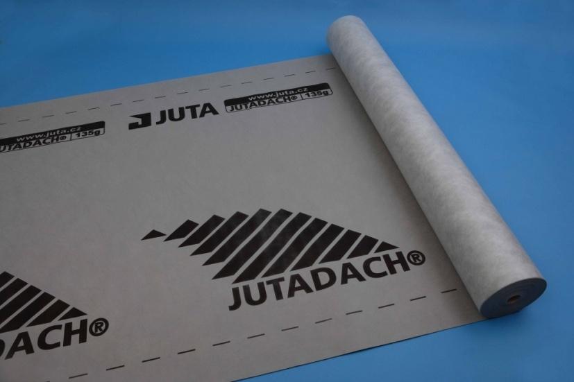 Paropropustná fólie Jutadach 135 g PLUS s aplikační páskou