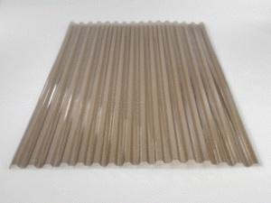 Onduclair PC polykarbonát trapéz 75/18 1,1x2 m bronz