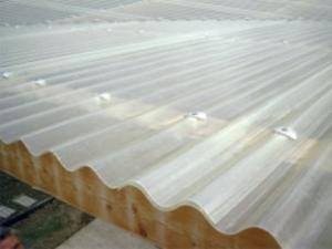 Onduline Onduclair PES vlnitá deska A5 177/51 0,92x2,5 m mléčná