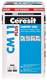 Henkel ČR s.r.o. Lepidlo Ceresit CM 11 PLUS na obklady a dlažbu 25 kg