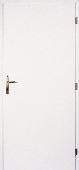 Masonite interiérové dveře PLNÉ hladké bílé 70 cm, voština