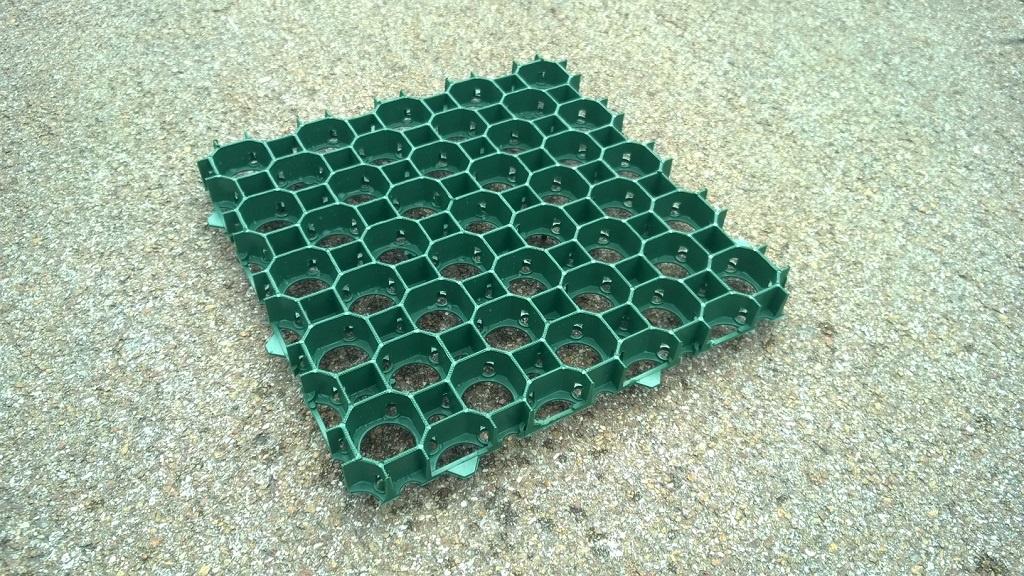 MEA Water MEA zatravňovací dlažba SALVAPRATO 50x50x3,9 cm