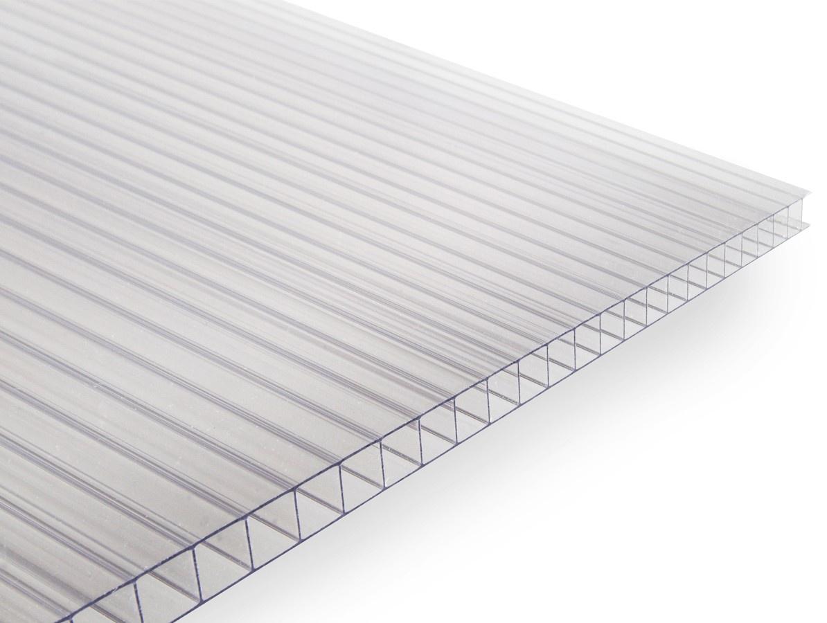 Gutta polykarbonátová deska Guttagliss DUAL BOX 10 mm čirá 2,00x2,10 m