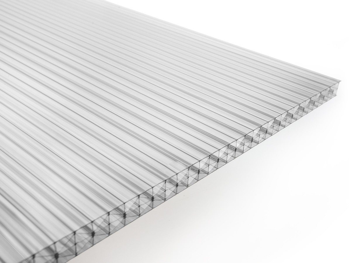Gutta polykarbonátová deska Guttagliss DUAL STRONG 16 mm čirá 1,00x1,05 m