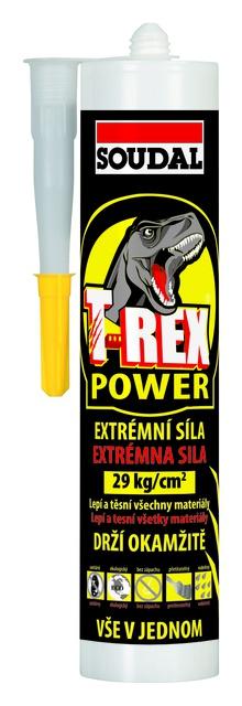 Soudal T-REX Power univerzální lepidlo a tmel bílý 290 ml