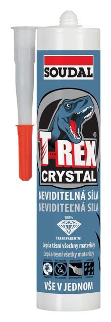 Soudal T-REX Crystal univerzální lepidlo a tmel transarentní 290 ml