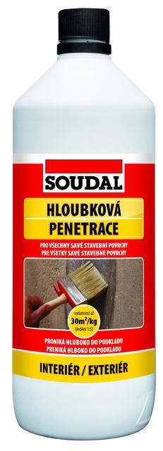 Soudal Hloubková penetrace 1 kg
