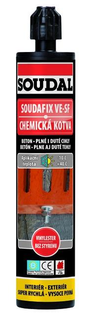Soudal Chemická kotva Soudafix VE-SF 280 ml