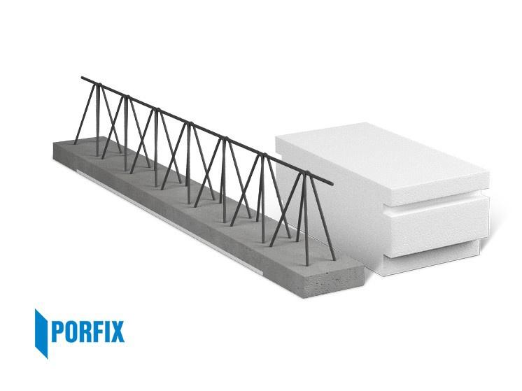 Porfix stropní nosník délka 1000 mm