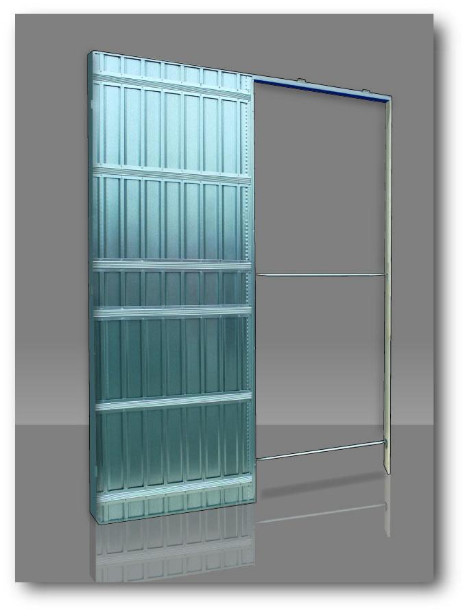 Scrigno stavební pouzdro Stech 600x2100 /100 mm jednokřídlé do SDK