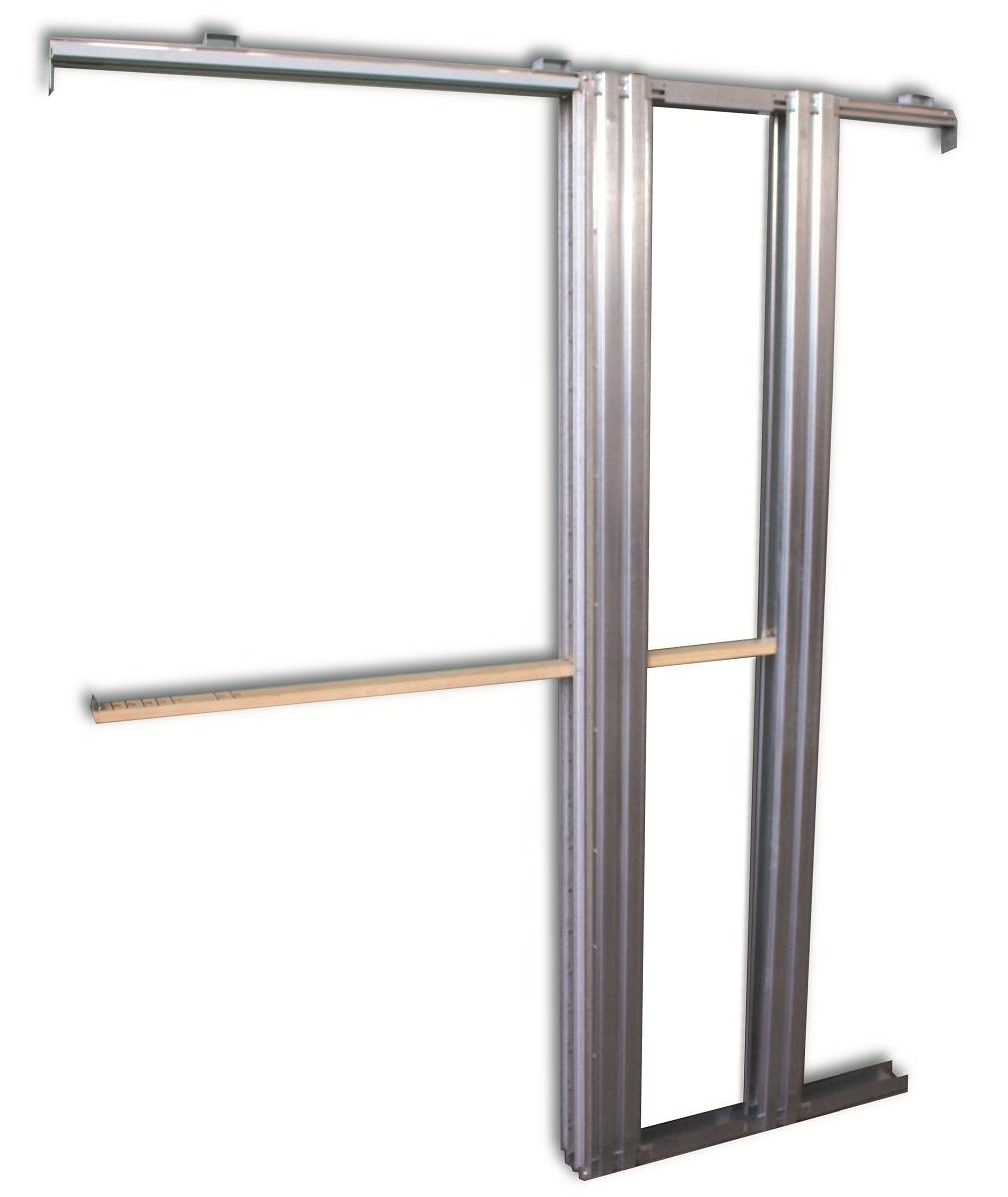 Scrigno stavební pouzdro Doorkit 600÷800x2100 /100 mm jednokřídlé do SDK